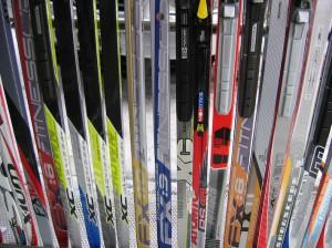 Langlauf-Ski